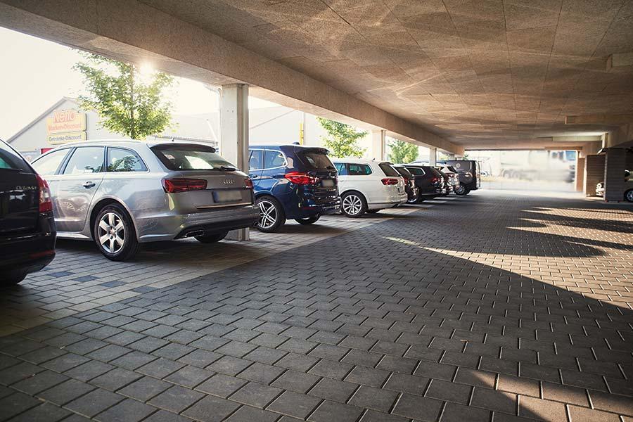Einfach gut gelegen und kostenlos geparkt