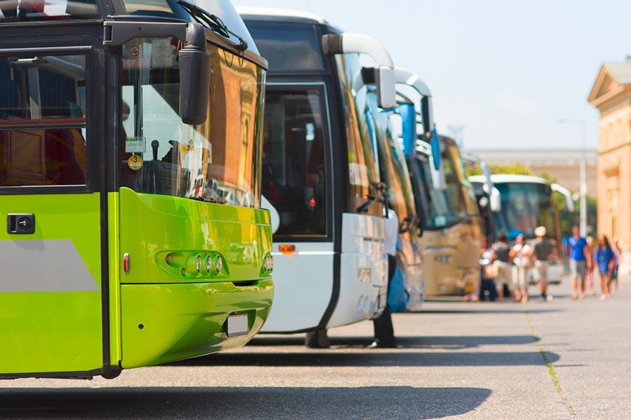 Ideal für Busse und Reisegruppen