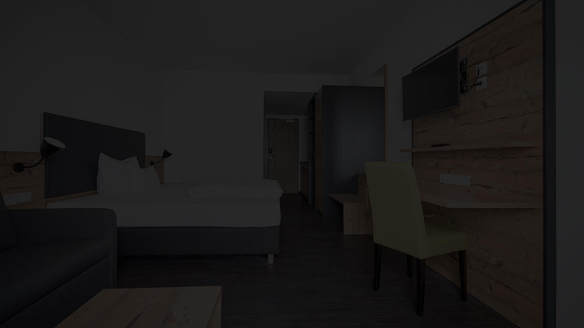 Moderne Zimmer im Hotel Alb inn