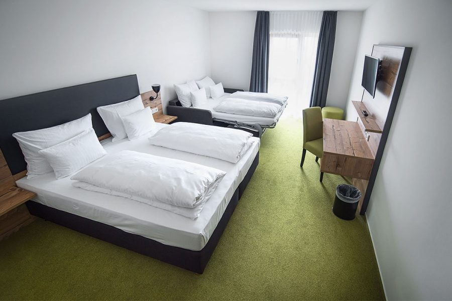 Doppelzimmer Thymian mit Schlafsofa